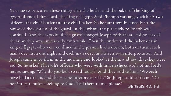 Thought of the Week 23/08/21 – Pastor Gareth Watkins